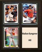 "MLB8""x10""Madison Bumgarner San Francisco Giants Three Card Plaque"