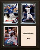 "MLB8""x10""Josh Donaldson Toronto Blue Jays Three Card Plaque"