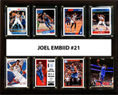 "NBA 12""x15"" Joel Embiid Philadelphia 76ers 8 Card Plaque"