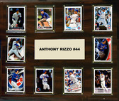 "MLB 15""x18"" Anthony Rizzo Chicago Cubs Player Plaque"