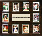 "MLB 15""x18"" Boston Red Sox 2004 World Series - 10-Card Plaque"