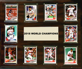 "MLB 15""x18"" Boston Red Sox 2018 World Series - 10-Card Plaque"
