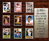 """MLB 15""""x18"""" Cal Ripken Jr. Baltimore Orioles Career Stat Plaque"""
