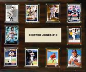 "MLB 15""x18"" Chipper Jones Atlanta Braves Player Plaque"