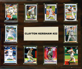 "MLB 15""x18"" Clayton Kershaw Los Angeles Dodgers Player Plaque"