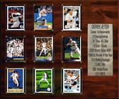 """MLB 15""""x18"""" Derek Jeter New York Yankees Career Stat Plaque"""