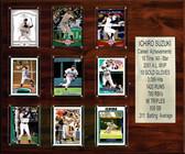 "MLB 15""x18"" Ichiro Seattle Mariners Career Stat Plaque"