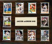 "MLB 15""x18"" Jacob deGrom New York Mets Player Plaque"