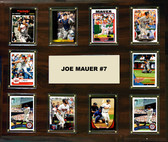 "MLB 15""x18"" Joe Mauer Minnesota Twins Player Plaque"
