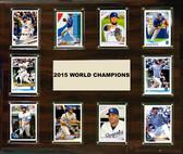"MLB 15""x18"" Kansas City Royals 2015 World Series - 10-Card Plaque"