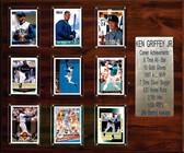 "MLB 15""x18"" Ken Griffey Jr. Seattle Mariners Career Stat Plaque"