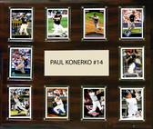 "MLB 15""x18"" Paul Konerko Chicago White Sox Player Plaque"