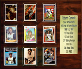 """MLB 15""""x18"""" Roberto Clemente Pittsburgh Pirates Career Stat Plaque"""
