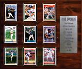 "MLB 15""x18"" Ryne Sandberg Chicago Cubs Career Stat Plaque"