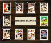 "MLB 15""x18"" San Francisco Giants 2012 World Series - 10-Card Plaque"