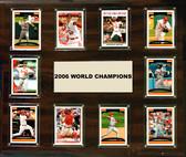 "MLB 15""x18"" St. Louis Cardinals 2006 World Series - 10-Card Plaque"