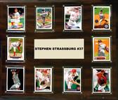 "MLB 15""x18"" Stephen Strasburg Washingron Nationals Player Plaque"