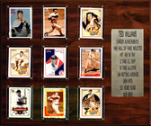 """MLB 15""""x18"""" Ted Williams Boston Red Sox Career Stat Plaque"""