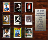 "MLB 15""x18"" Tom Seaver New York Mets Career Stat Plaque"