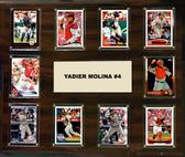 "MLB 15""x18"" Yadier Molina St. Louis Cardinals Player Plaque"