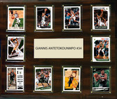 "NBA 15""x18"" Giannis Antetokounmpo Milwaukee Bucks Player Plaque"