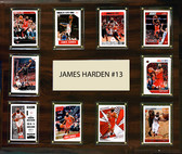 "NBA 15""x18"" James Harden Houston Rockets Player Plaque"
