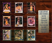 "NBA 15""x18"" Kobe Bryant Los Angeles Lakers Career Stat Plaque"