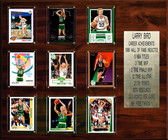 "NBA 15""x18"" Larry Bird Boston Celtics Career Stat Plaque"