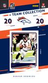 NFL Denver Broncos Licensed2020 Donruss Team Set