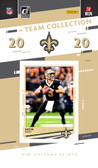 NFL New Orleans Saints Licensed2020 Donruss Team Set