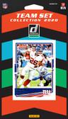 NFL New York Giants Licensed2020 Donruss Team Set