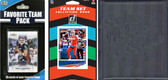 NFL Buffalo Bills Licensed 2020 Score Team Set and Favorite Player Trading Card Pack Plus Storage Album
