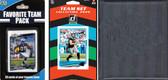NFL Carolina Panthers Licensed 2020 Score Team Set and Favorite Player Trading Card Pack Plus Storage Album