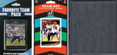 NFL Chicago Bears Licensed 2020 Score Team Set and Favorite Player Trading Card Pack Plus Storage Album