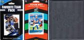 NFL Detroit Lions Licensed 2020 Score Team Set and Favorite Player Trading Card Pack Plus Storage Album