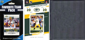 NFL Green Bay Packers Licensed 2020 Score Team Set and Favorite Player Trading Card Pack Plus Storage Album