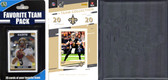 NFL New Orleans Saints Licensed 2020 Score Team Set and Favorite Player Trading Card Pack Plus Storage Album