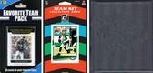 NFL New York Jets Licensed 2020 Score Team Set and Favorite Player Trading Card Pack Plus Storage Album