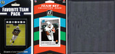 NFL Oakland Raiders Licensed 2020 Score Team Set and Favorite Player Trading Card Pack Plus Storage Album