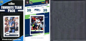 NFL Seattle Seahawks Licensed 2020 Score Team Set and Favorite Player Trading Card Pack Plus Storage Album