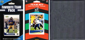 NFL Los Angeles Rams Licensed 2020 Score Team Set and Favorite Player Trading Card Pack Plus Storage Album