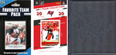 NFL Tampa Bay Buccaneers Licensed 2020 Score Team Set and Favorite Player Trading Card Pack Plus Storage Album