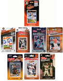 MLB Baltimore Orioles 8 Different Licensed Trading Card Team Sets