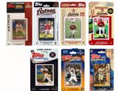 MLB Houston Astros 7 Different Licensed Trading Card Team Sets