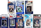 MLB Los Angeles Dodgers 8 Different Licensed Trading Card Team Sets