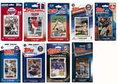 MLB Minnesota Twins 9 Different Licensed Trading Card Team Sets
