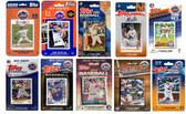 MLB New York Mets 10 Different Licensed Trading Card Team Sets