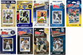 MLB San Diego Padres 9 Different Licensed Trading Card Team Sets