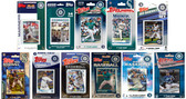 MLB Seattle Mariners 11 Different Licensed Trading Card Team Sets