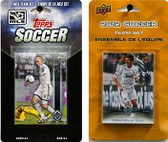 MLS Vancouver Whitecaps 2 Different Licensed Trading Card Team Sets